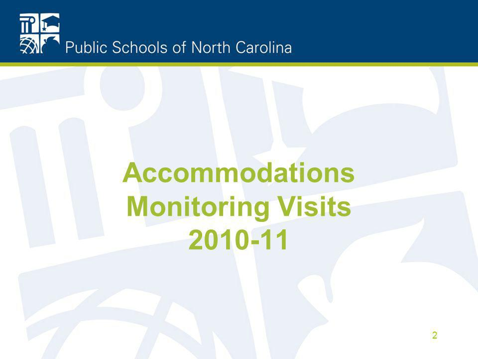 Accommodations Monitoring Visits