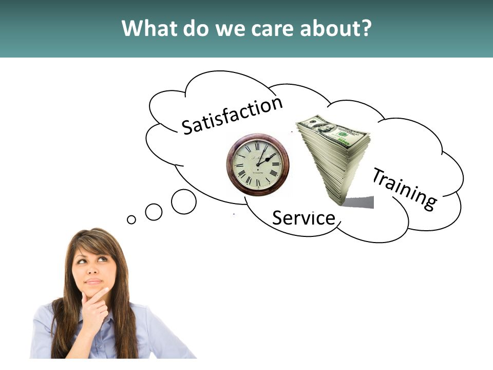 What do we care about Service Training Satisfaction
