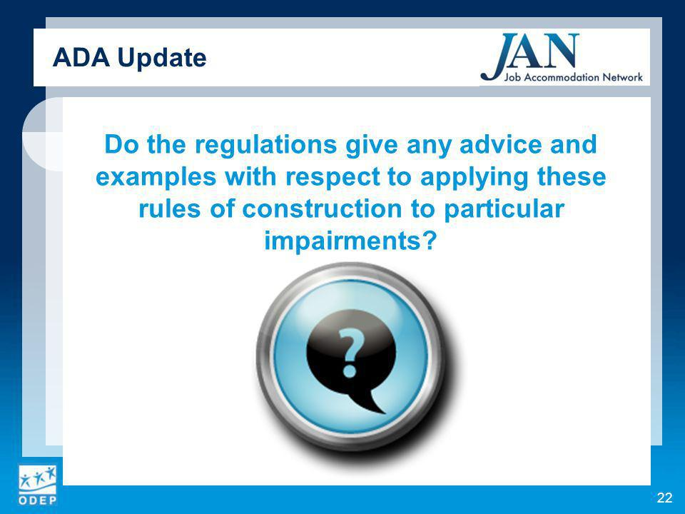 Do the regulations give any advice and examples with respect to applying these rules of construction to particular impairments.