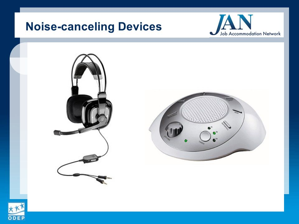 Noise-canceling Devices