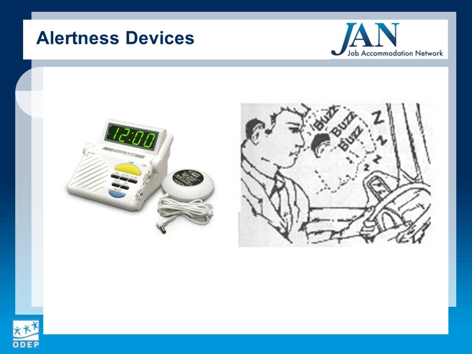 Alertness Devices