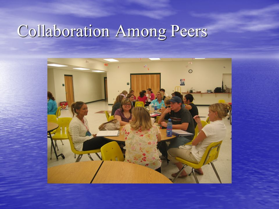 Collaboration Among Peers