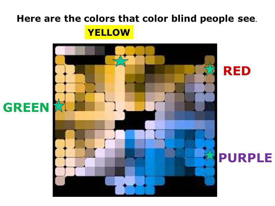 Most people see all these colors and more.