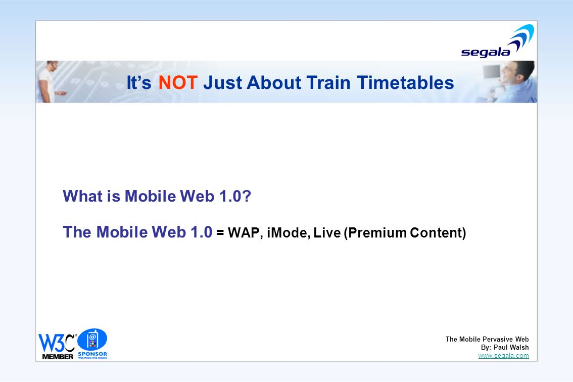 What is Mobile Web 1.0.