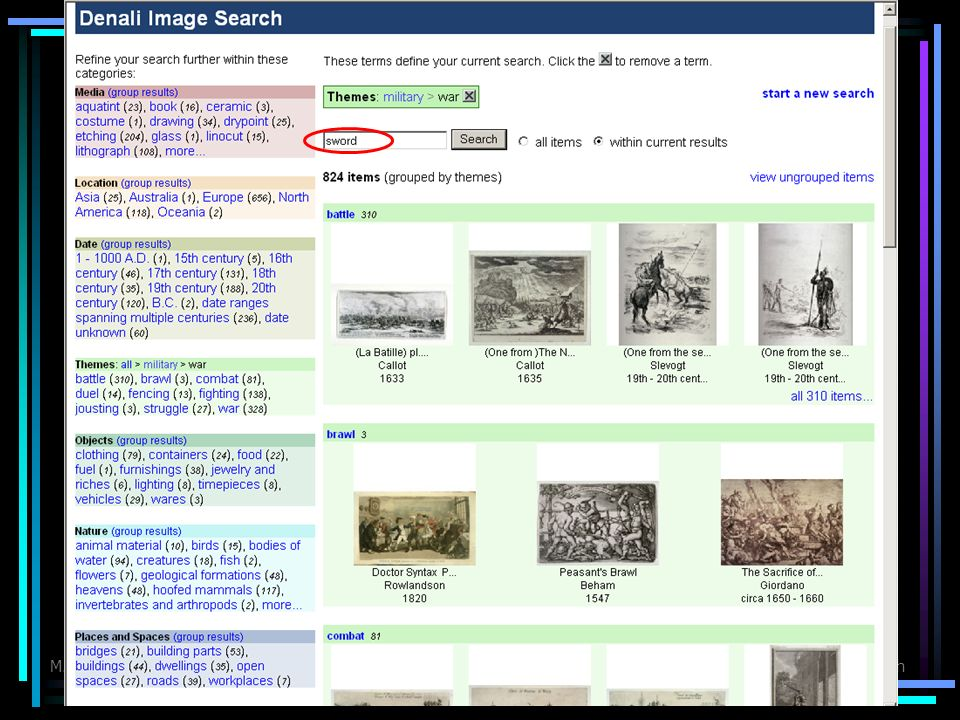 M. HearstFaceted Metadata in Search