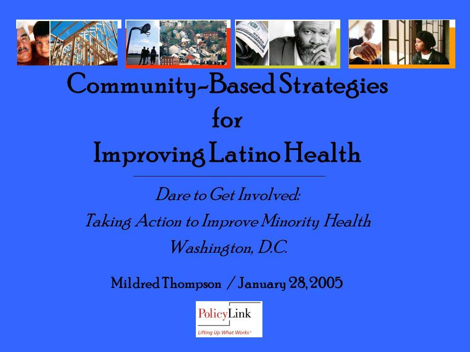 Dare to Get Involved: Taking Action to Improve Minority Health Washington, D.C.