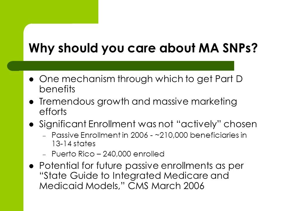 Why should you care about MA SNPs.