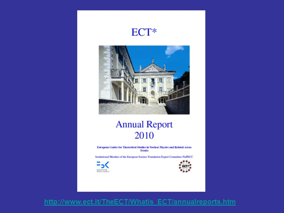 http://www.ect.it/TheECT/Whatis_ECT/annualreports.htm