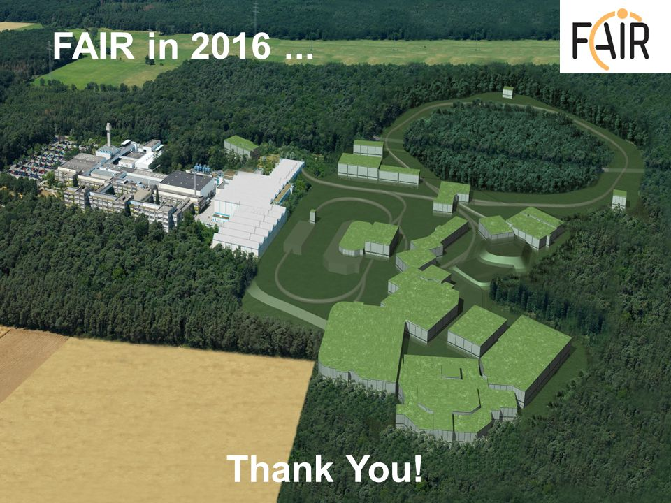 Thank You! FAIR in 2016...
