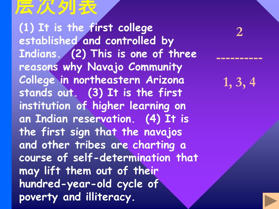 (1) It is the first college established and controlled by Indians.