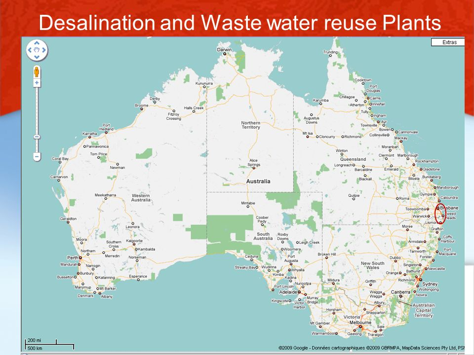Desalination and Waste water reuse Plants