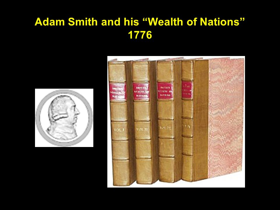 Adam Smith and his Wealth of Nations 1776