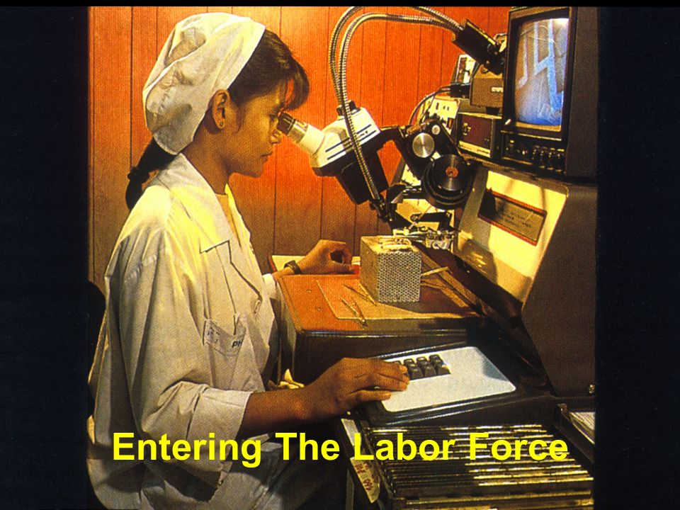 Entering The Labor Force