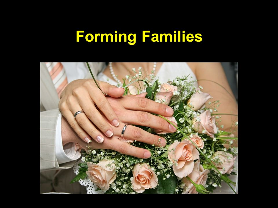 Forming Families
