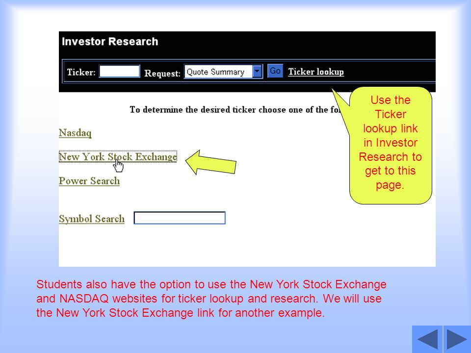 Investor Research This Is A Tutorial On Using Investor Research In