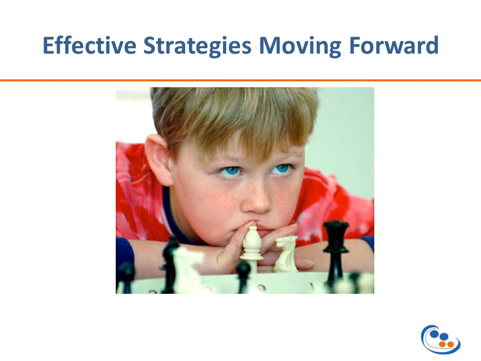 Effective Strategies Moving Forward