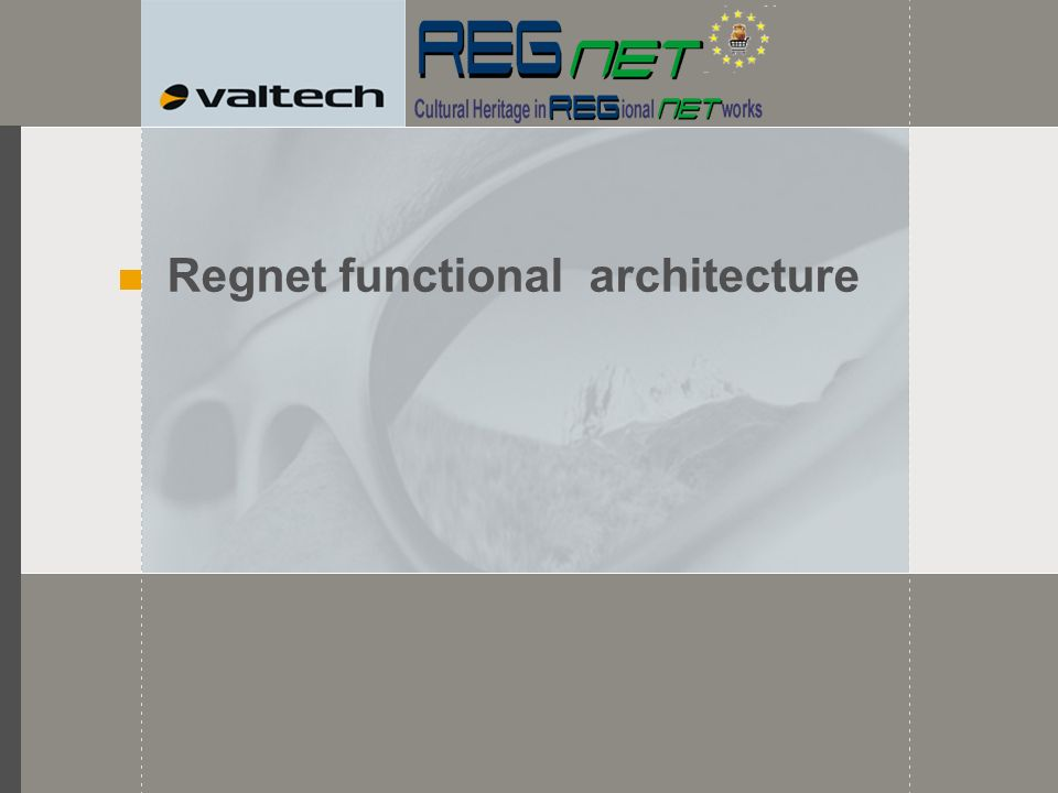 Regnet functional architecture