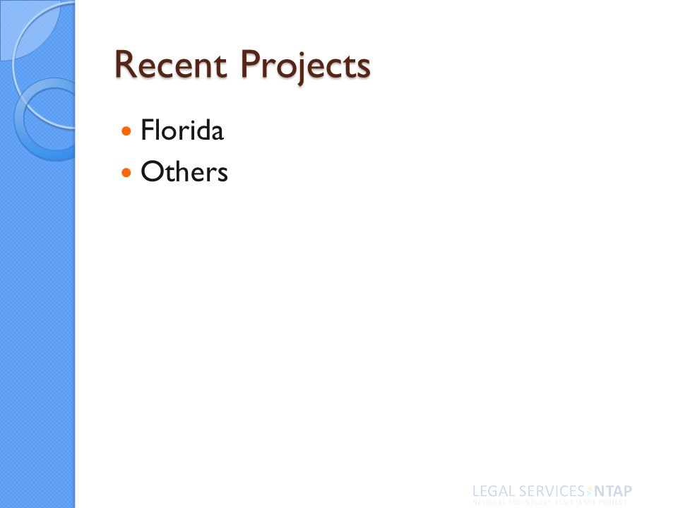 Recent Projects Florida Others