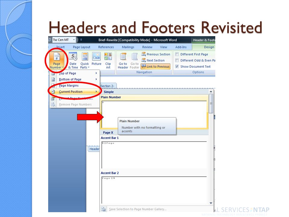 Headers and Footers Revisited