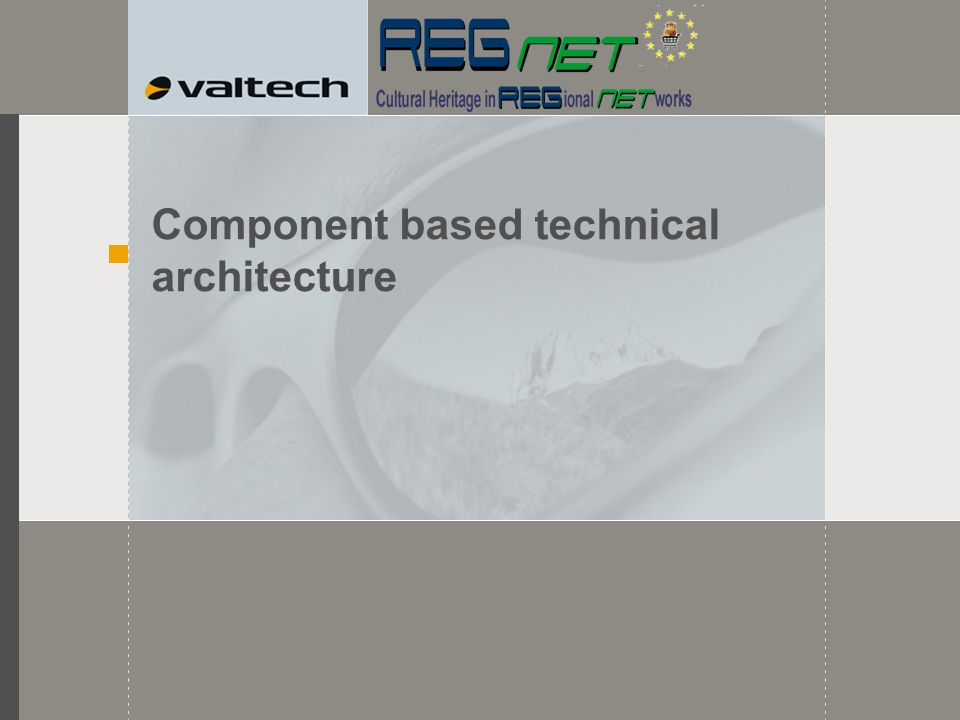 Component based technical architecture