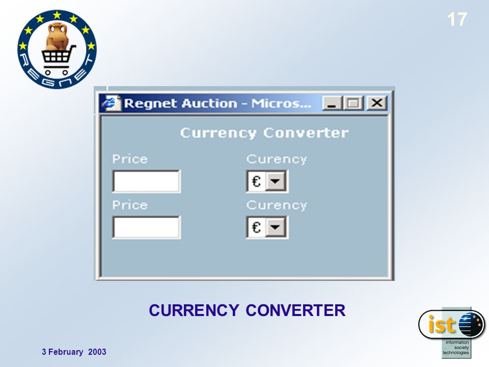 3 February 2003 17 CURRENCY CONVERTER