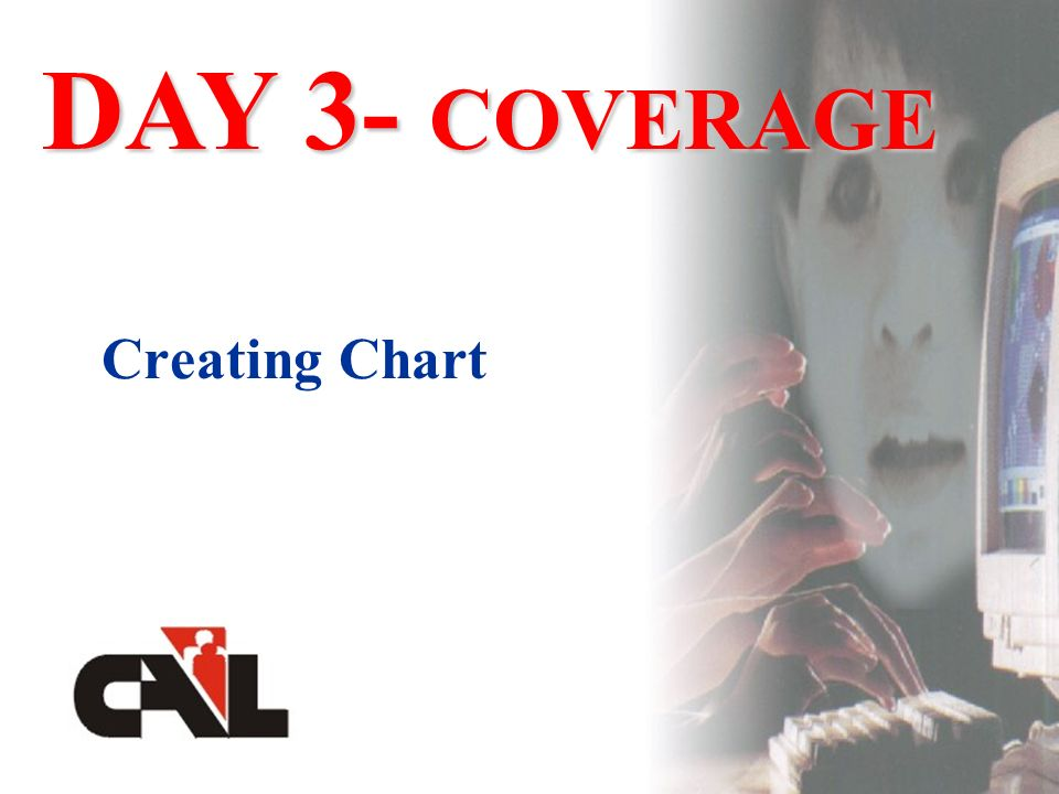Creating Chart DAY 3- COVERAGE