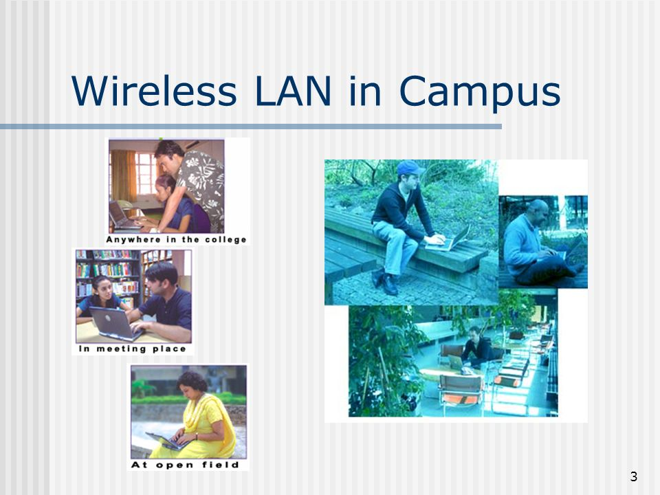 3 Wireless LAN in Campus