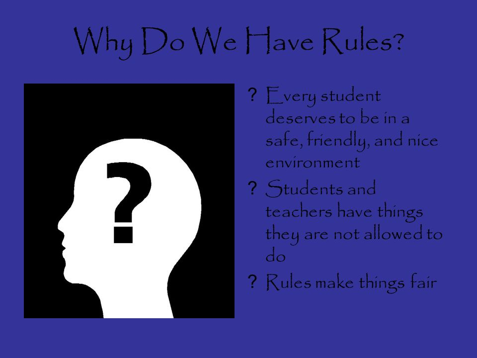 This power point is a brief description of rules at different places that students need to know about….enjoy!
