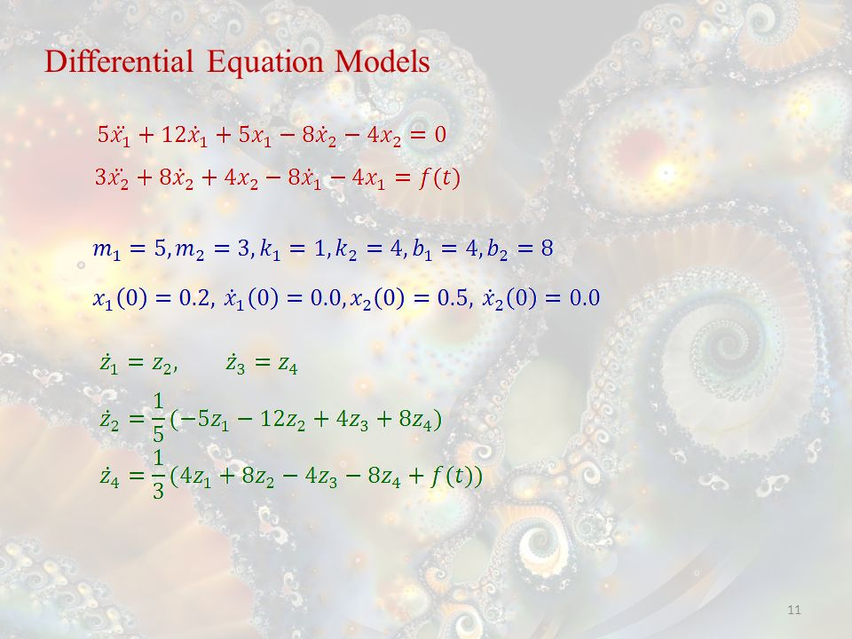 11 Differential Equation Models