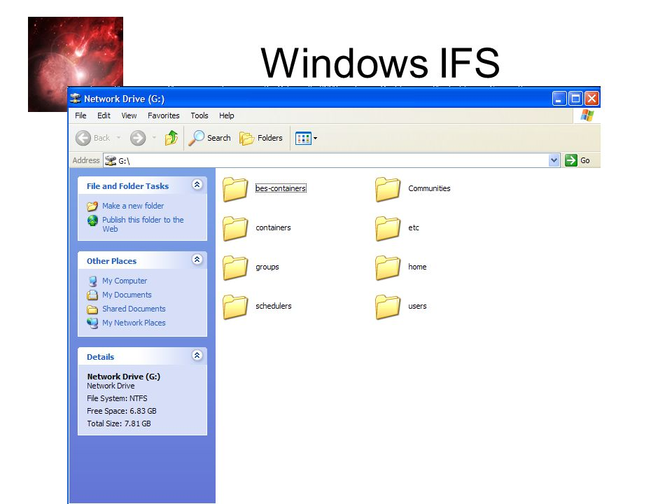 Genesis II Open Source, OGSA Implementation Windows IFS