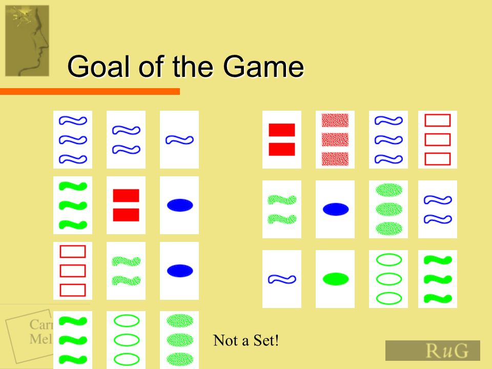 Goal of the Game Not a Set!