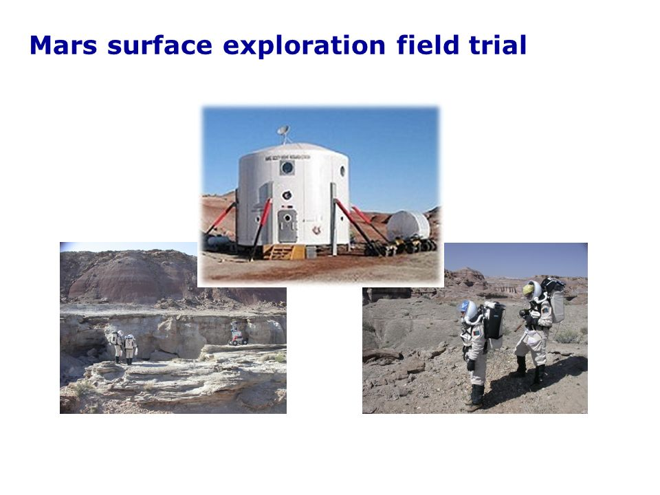 Mars surface exploration field trial