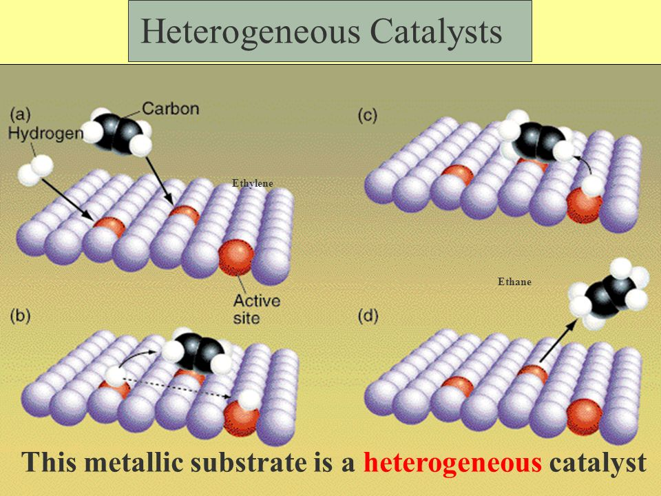 Catalyst: a substance that changes the speed of a chemical reaction without it self undergoing a permanent chemical change in the process or it is reconstituted at the end.