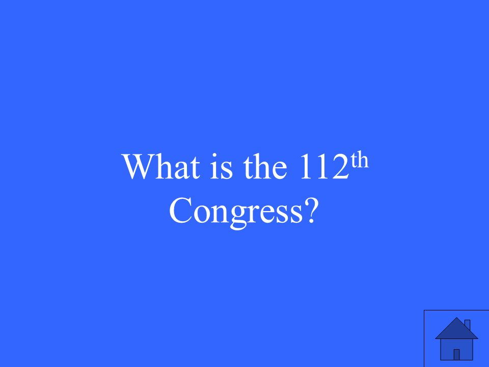 This is the number of the current term of Congress