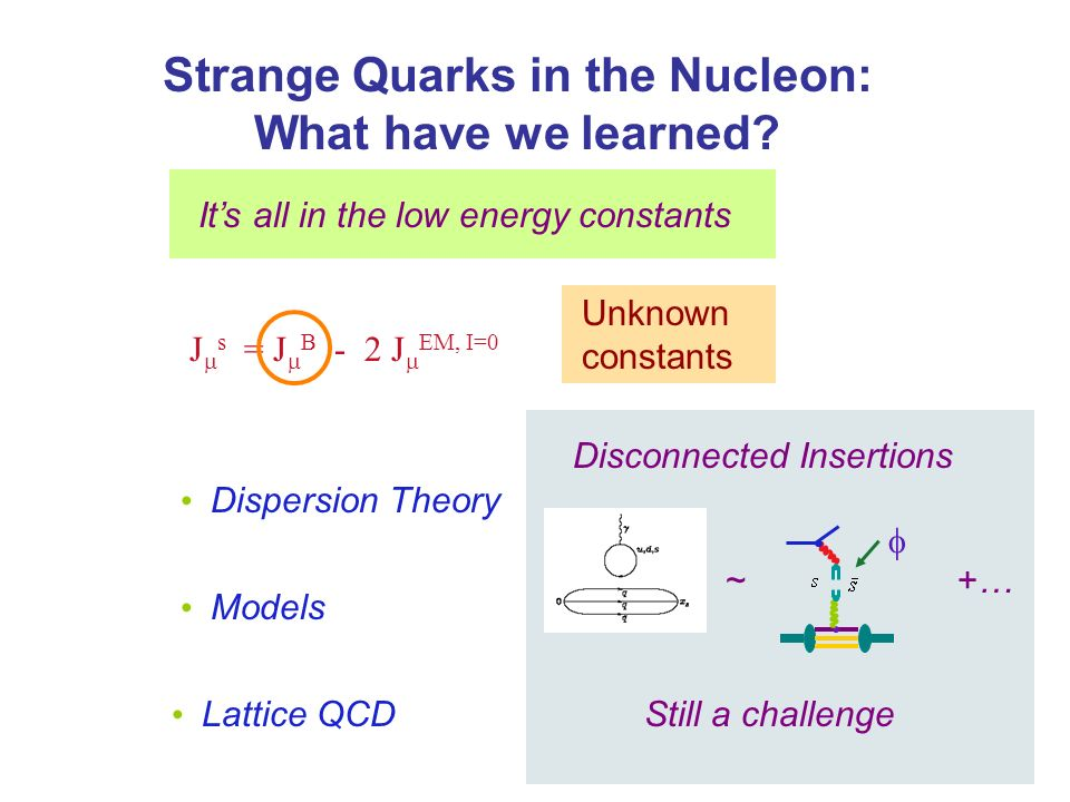 Strange Quarks in the Nucleon: What have we learned.