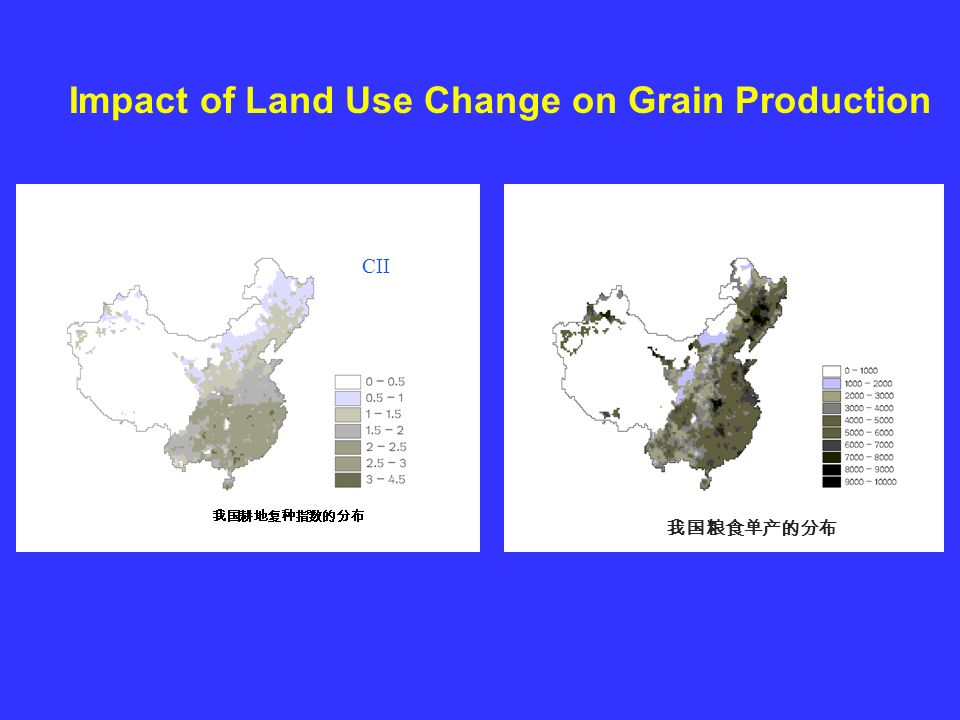 CII Impact of Land Use Change on Grain Production