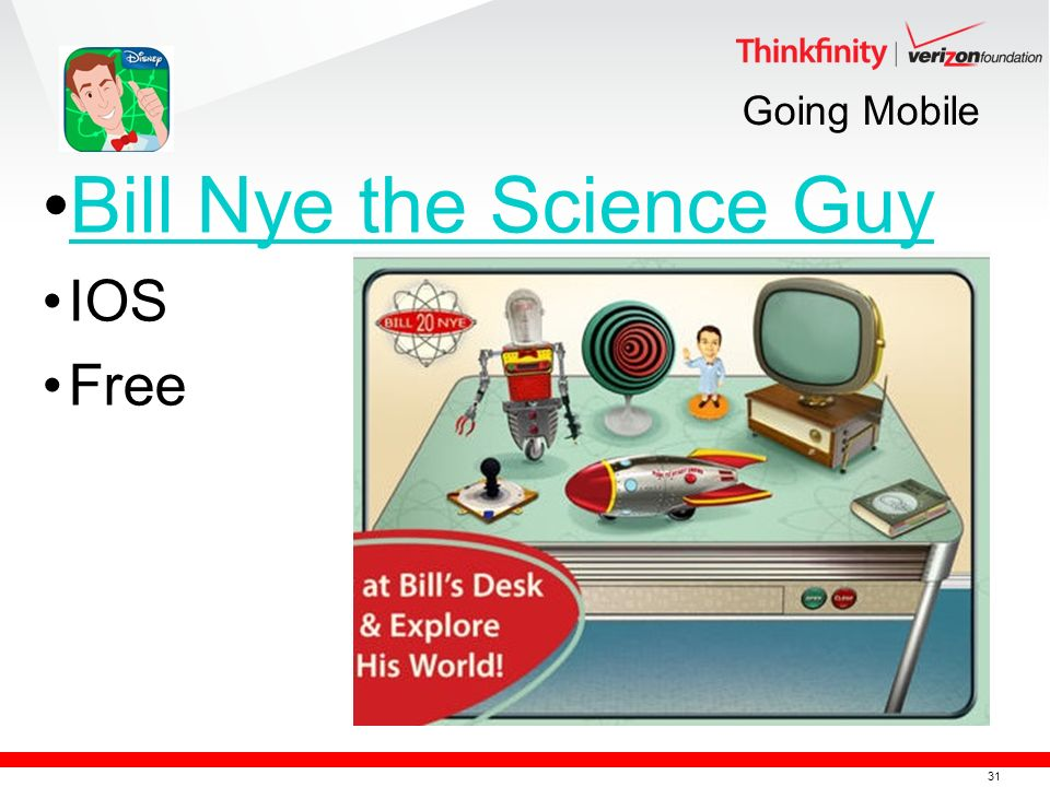 31 Going Mobile Bill Nye the Science Guy IOS Free