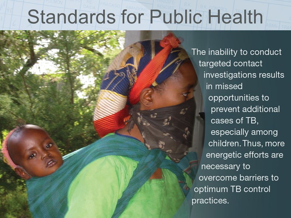 ISTC Training Modules 2008 Standards for Public Health
