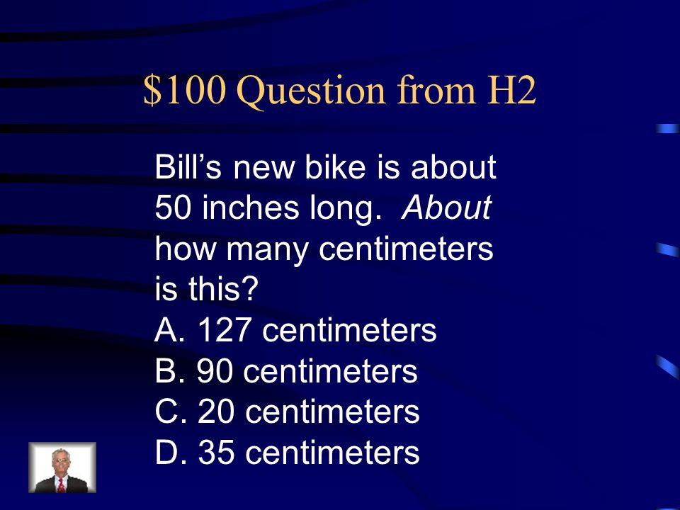 $500 Answer from H1 D.1 2