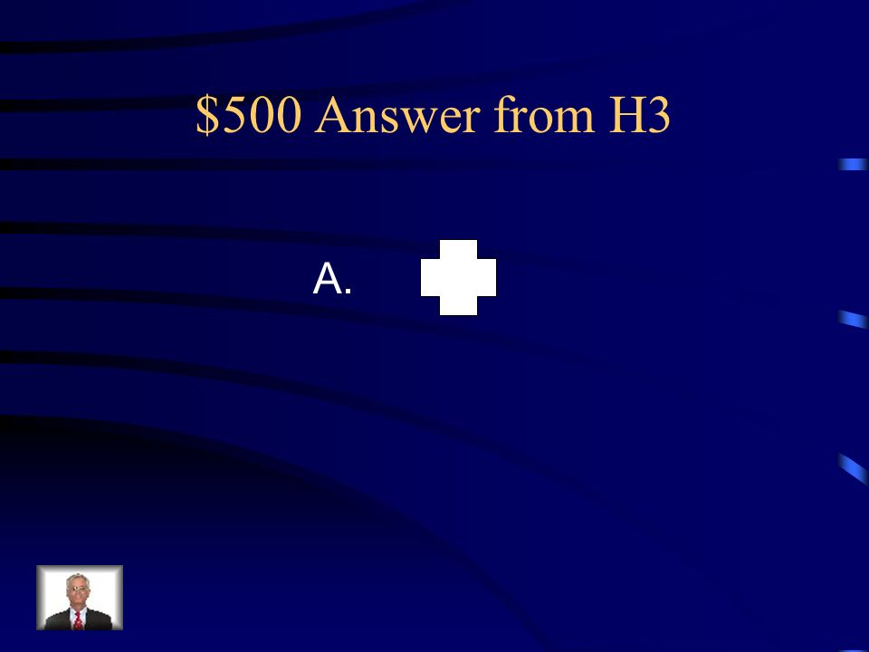 $500 Question from H3 Which of the following plane figures have quarter-turn rotational symmetry .