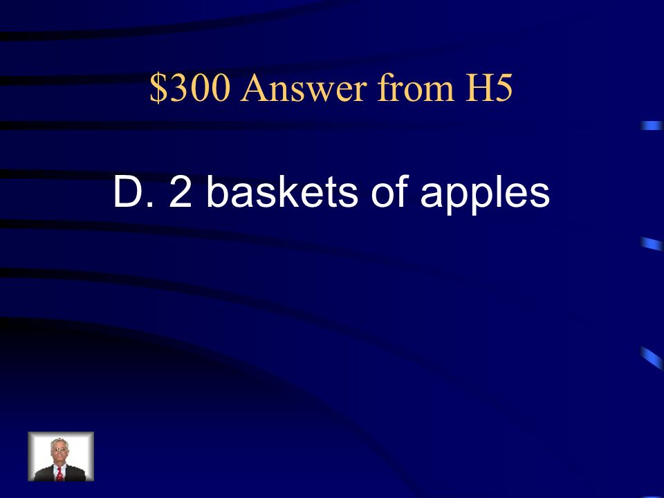 $300 Question from H5 Marquise has $10.00 to buy enough fruit to make a fruit tray.