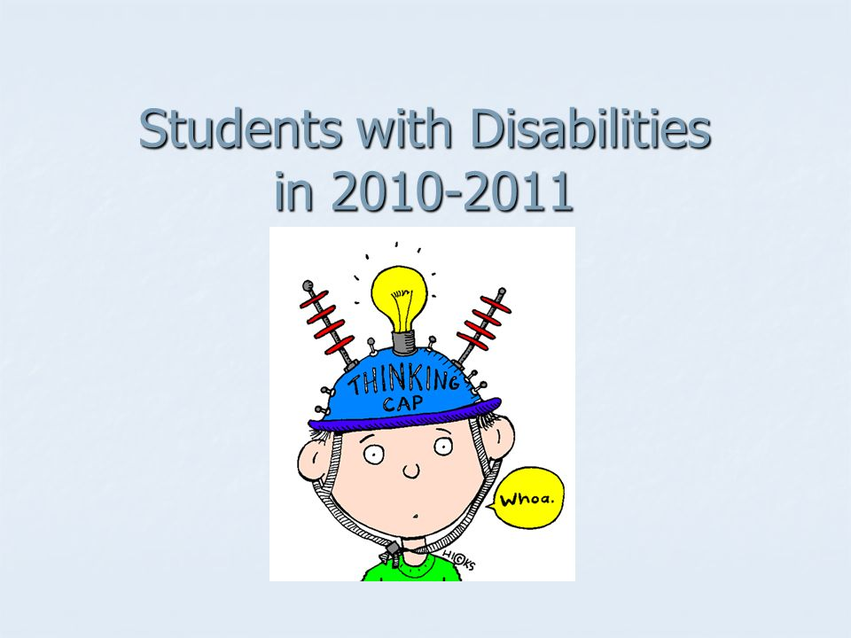 Students with Disabilities in 2010-2011