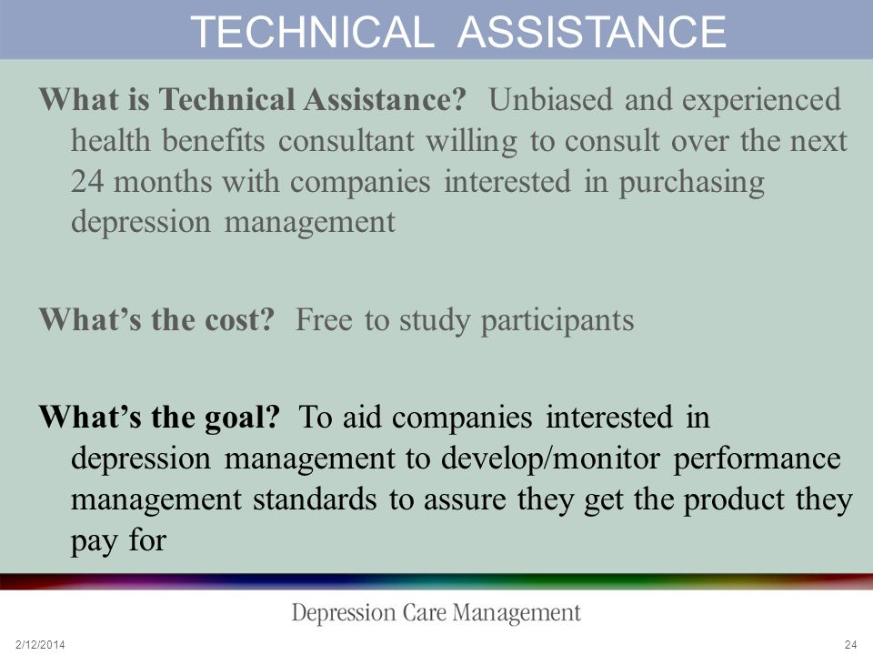 2/12/ TECHNICAL ASSISTANCE What is Technical Assistance.