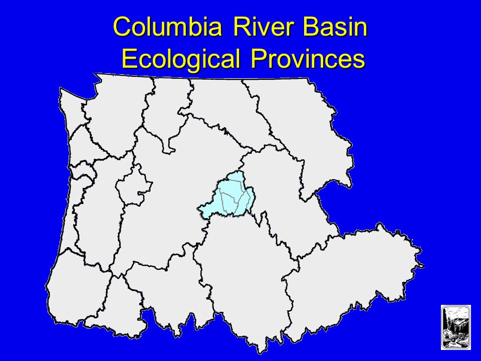 Columbia River Basin Ecological Provinces