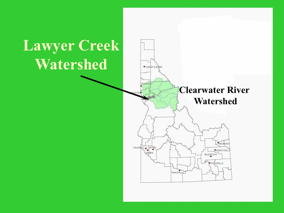 Lawyer Creek Watershed Clearwater River Watershed