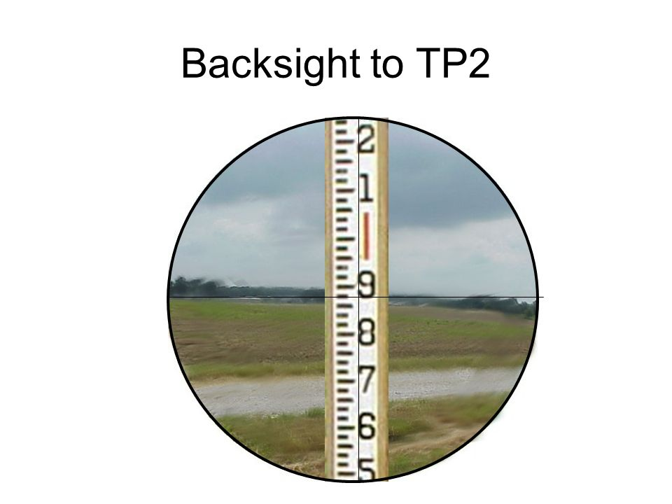 Backsight to TP2