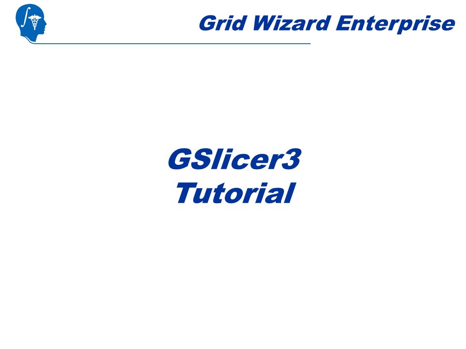 Grid Wizard Enterprise GSlicer3 Tutorial
