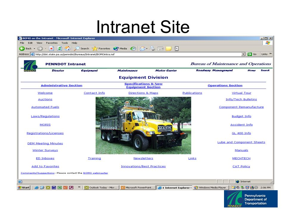 Intranet Site
