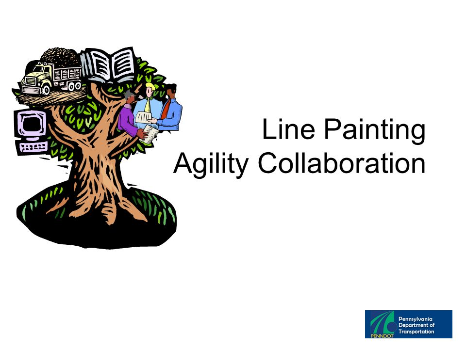 Line Painting Agility Collaboration