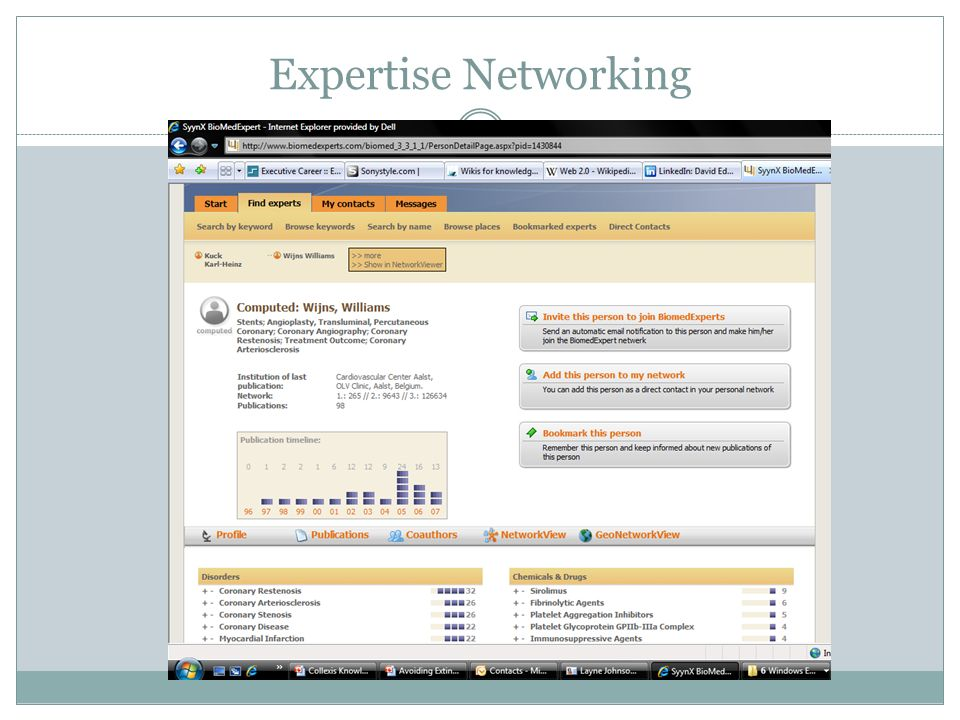 Expertise Networking